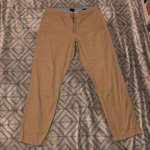 Tan Men's J Crew Dress Pants
